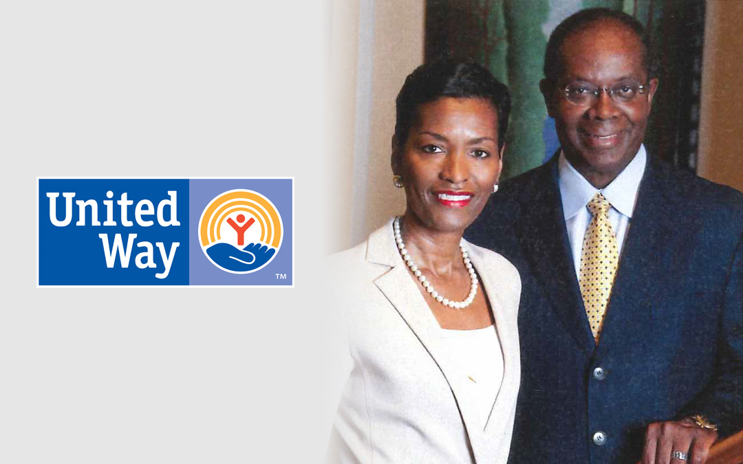 Donna and Larry James Honored by United Way